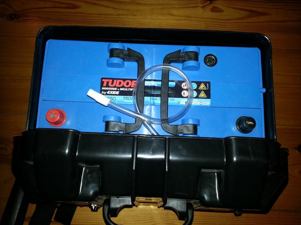 Tudor 115Ah batteri från Erlandssons Brygga