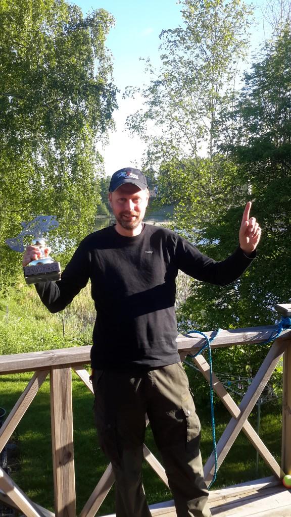 Vinnaren Tony Müller
